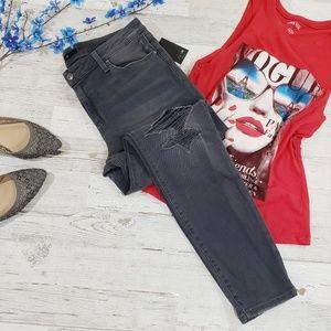 Joe's jeans skinny ankle distressed size 32 NWT